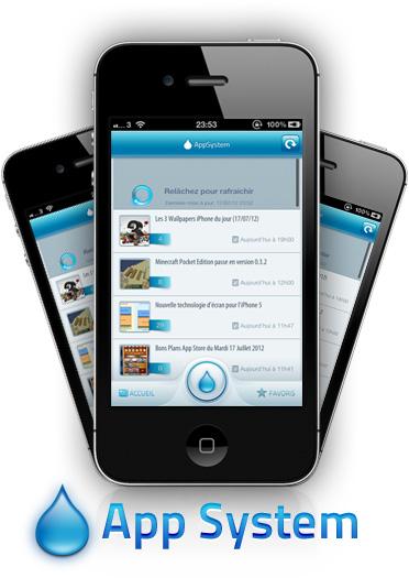 AppSystem Prez AppSystem lapplication du site iPhone3GSystem est disponible sur lApp Store