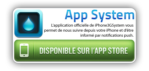 AppSystem application iphone de iPhone3GSystem.fr