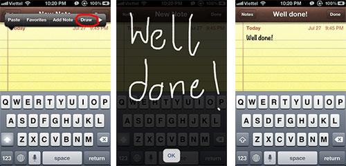 Handwriting Cydia : Handwriting recognition : dessinez pour écrire