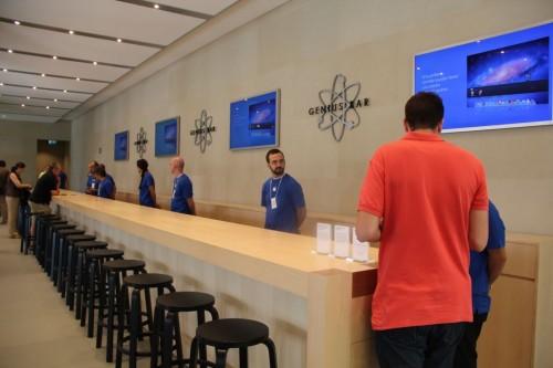 Le plus grand Apple Store dEurope du Sud à Barcelone se dévoile