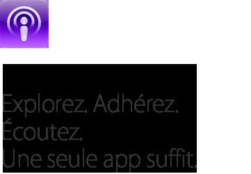 apple podcasts title Apple met à jour iWork, Podcasts et iTunes U