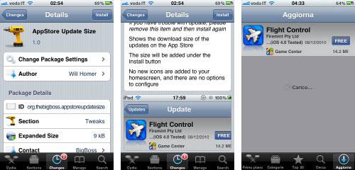 appstoresize Cydia : AppStore Update Size passe en version 1.5