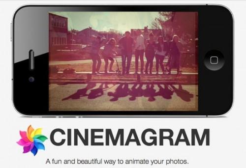 cinemagram 500x342 Lapplication Cinemagram passe en version 1.15