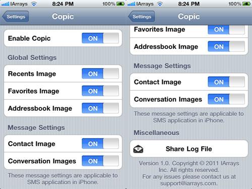 copic2 Cydia : Copic passe en version 2.0.5