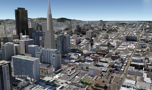 google earth 3D Google Earth se met jour en 7.0 et apporte la 3D