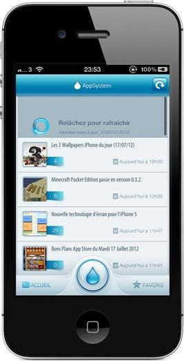 iphone1 AppSystem lapplication du site iPhone3GSystem est disponible sur lApp Store