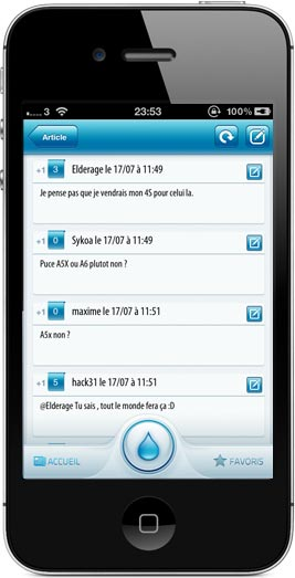iphone3 AppSystem lapplication du site iPhone3GSystem est disponible sur lApp Store