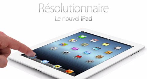 le nouvel ipad1 Apple annonce officiellement liPad Retina 128 GB