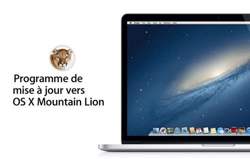 os x mountain lion gratuit free Comment bénéficier de OS X Mountain Lion gratuitement ?