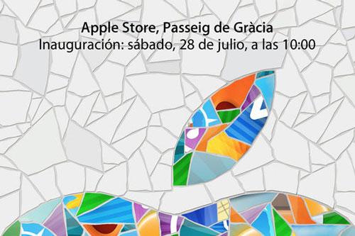 passeigdegracia apple store barcelone Le plus grand Apple Store dEurope du Sud à Barcelone se dévoile