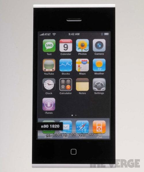 proto1 Des photos des différents prototypes diPhone et diPad