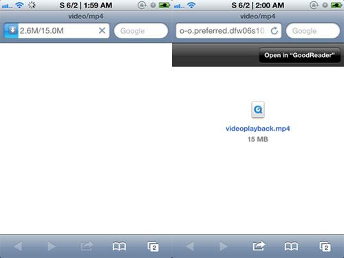 sde Cydia : Safari Download Enabler passe en version 2.0 1