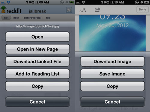 sdm Cydia : Safari Download Enabler passe en version 1.4 2
