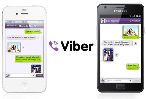 viber free call Viber passe en version 2.2 et apporte les groupes de conversation