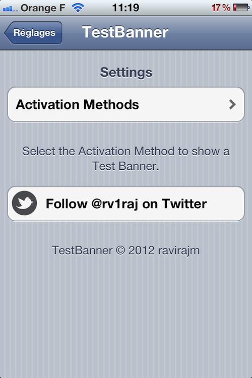 Photo 21 08 12 11 19 31 Cydia : TestBanner, testez les bannières de notification