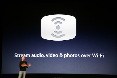 airplay Un nouvel AirPlay sans WiFi ?