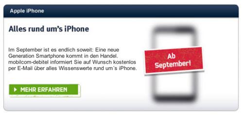 allemagne iphne 5 new Un opérateur allemand annonce le nouvel iPhone pour septembre