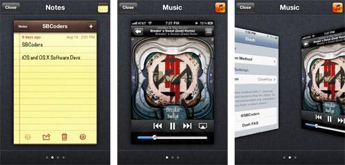 dash Cydia : Dash modifie le multitâche sous iOS