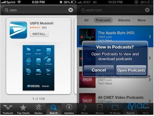 iOS61 iOS 6 : des nouveautés pour lApp Store
