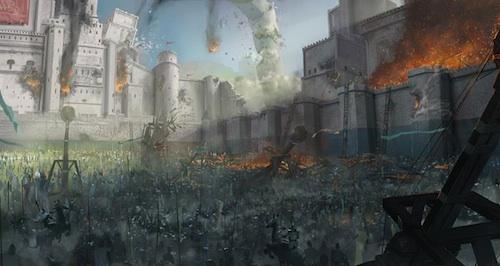 kingdoms of camelot battle for the north arte 006 Participez à la Bataille du Nord dans Kingdoms of Camelot