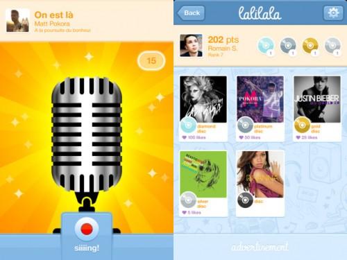 lalilala applivore 2 500x375 Sois la prochaine star de la chanson avec lalilala