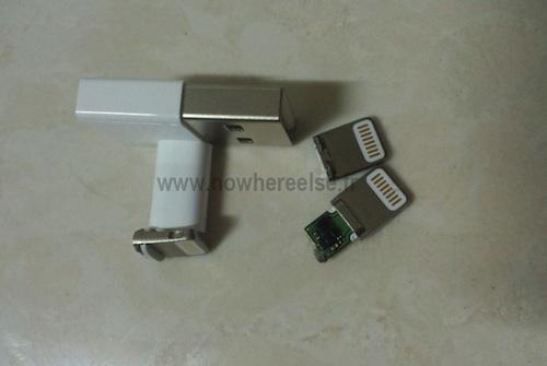 nouvel iphone 5 connecteur 01 Des images du nouveau dock de liPhone ?
