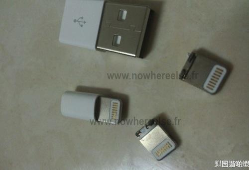 nouvel iphone 5 connecteur 03 Des images du nouveau dock de liPhone ?