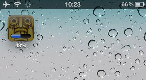 percentprogress Cydia : ProgressPercent, affichez le pourcentage de téléchargement des apps
