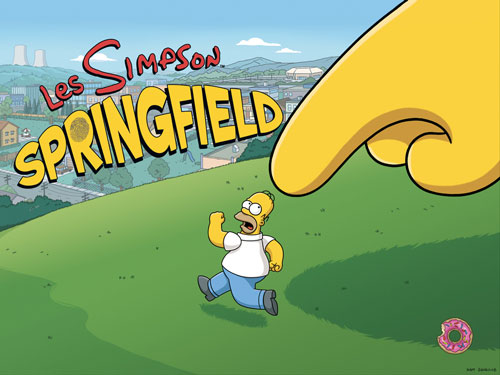 simpson Les Simpson™: Springfield, enfin disponible sur lApp Store FR