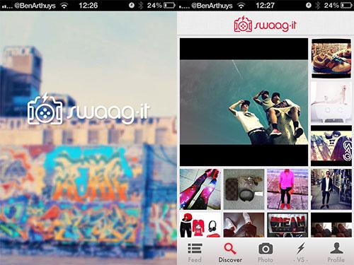 swagg it app Découvrez le nouveau réseau social qui a du swaaaaag !