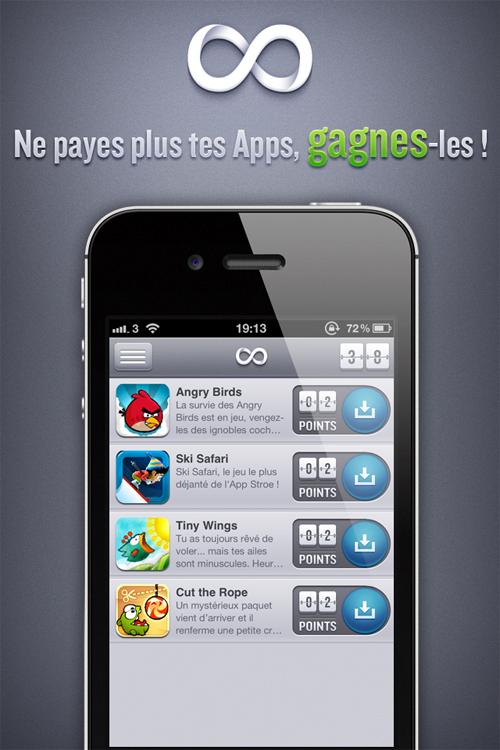 111 freevore : Ne payez plus vos applications iPhone, Gagnez les !