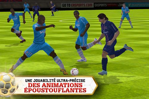FIFA131 FIFA 13 disponible sur lApp Store
