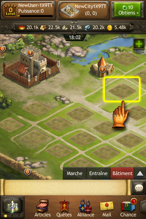 Kingdoms of Camelot Battle for the North 02 Défendez votre royaume avec Kingdoms of Camelot