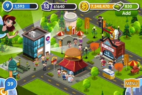 MyTown My Town 2, créez la cité de vos rêves