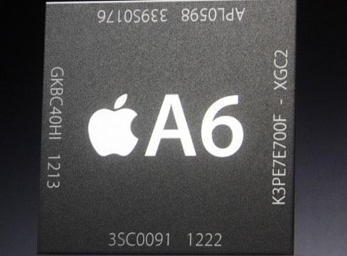 a6 iPhone 5 : 1 Go de RAM et un processeur fait maison