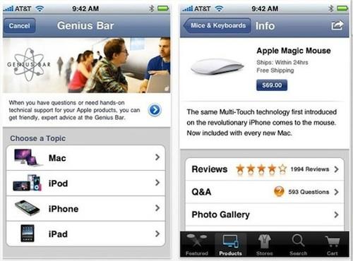 apple store Lapplication Apple Store désormais compatible iOS 6