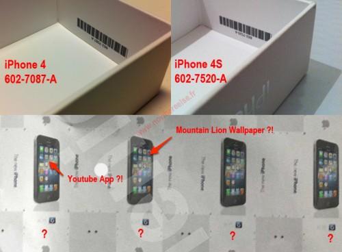 Démenti : boîte de liPhone 5 ou The New iPhone