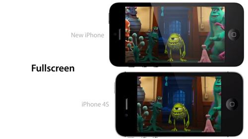 ecran iPhone 5 Vidéo de lécran 4 pouces du prochain iPhone en action