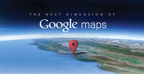 google maps next dimension Google Maps pour iOS arrive