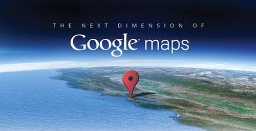 google maps next dimension Google Maps pour iOS se met à jour en version 1.1