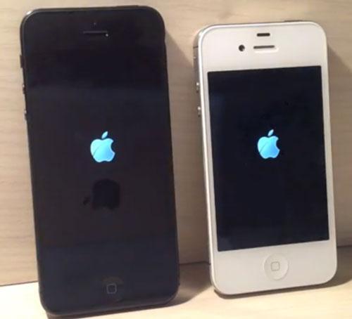 iPhone54Svs5 Un test vidéo entre liPhone 5 et liPhone 4S