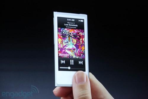 img0456 500x333 Le bilan du keynote : iPhone 5, iOS 6, iPod et iTunes 11 [MAJ]