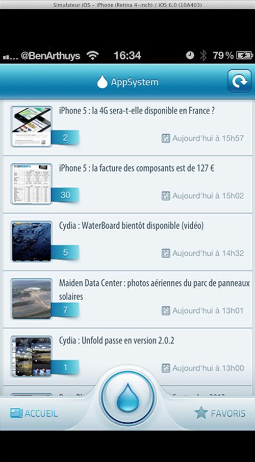 iphone 5 app centre Les apps non adaptées à liPhone5 seront centrées