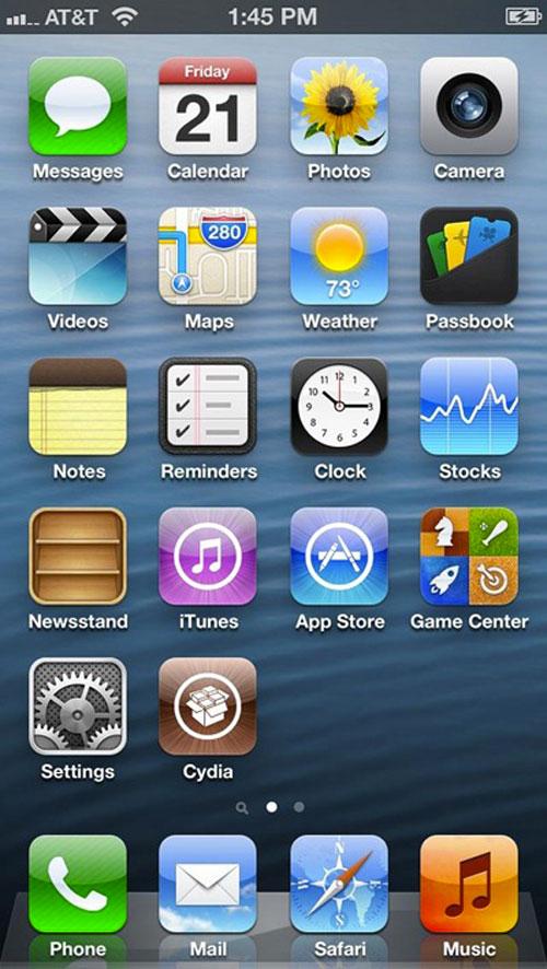 iphone5 jailbreak Déjà un jailbreak de liPhone 5 ?