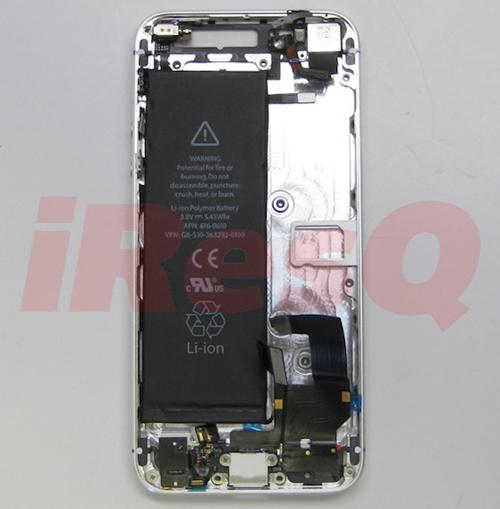 iresq iphone 5 battery shell Plus de détails concernant la batterie de liPhone 5