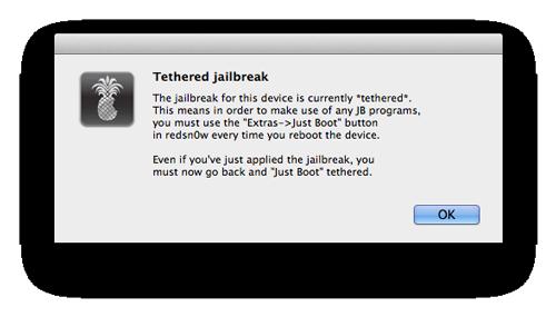 jailbreak ios 6 04 Tutoriel : jailbreak tethered iOS 6 avec Redsn0w