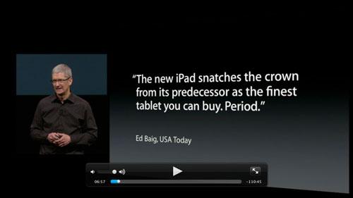 keynote1 La vidéo du keynote de liPhone 5 disponible
