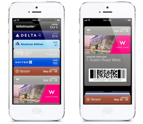 passbook ios 6 Apple Store : bientôt le paiement par Passbook ?