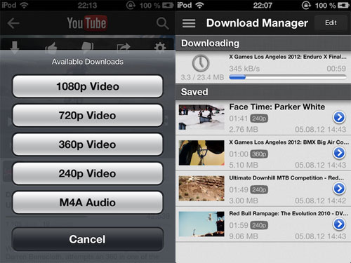 protube2 Cydia : ProTube 2 passe en version 1.0.1
