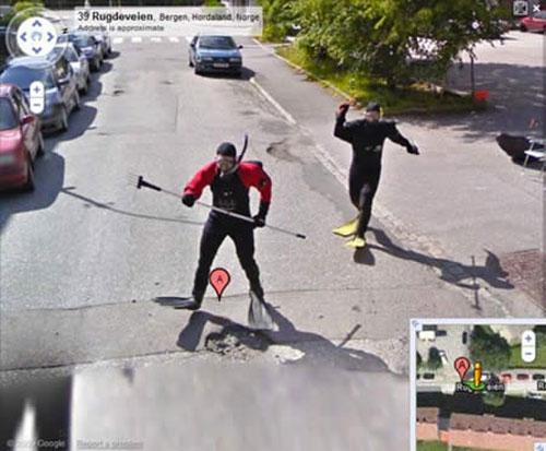street Street View bientôt disponible via Google Maps mobile ?